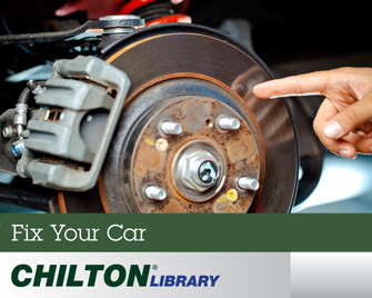 Fix your car with the Chilton's Auto Library available through this link.